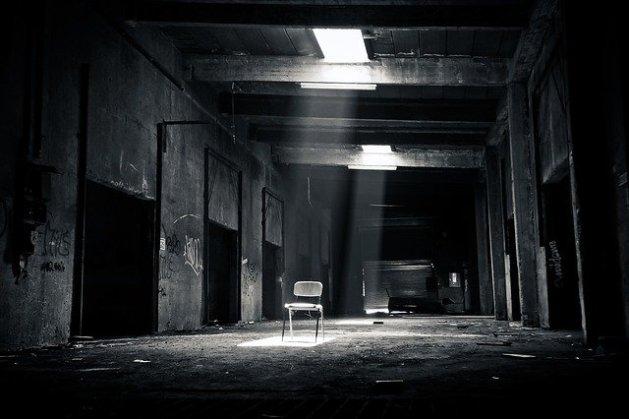 Lugar perdido. Blanco y negro. Reseña de 1984