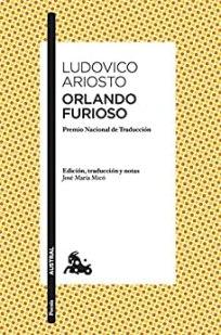 Orlando furioso de Ariosto. Portada de edición de Austral.