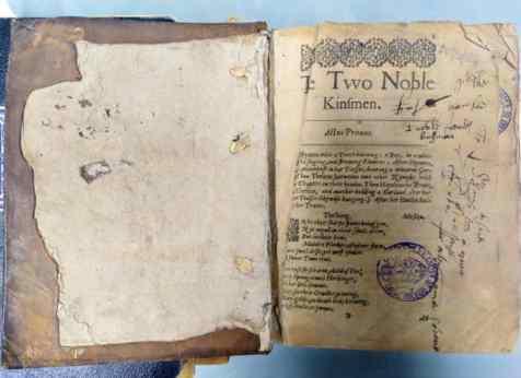 Los-dos-nobles-caballeros-primer-obra-shakespeare-en-espana
